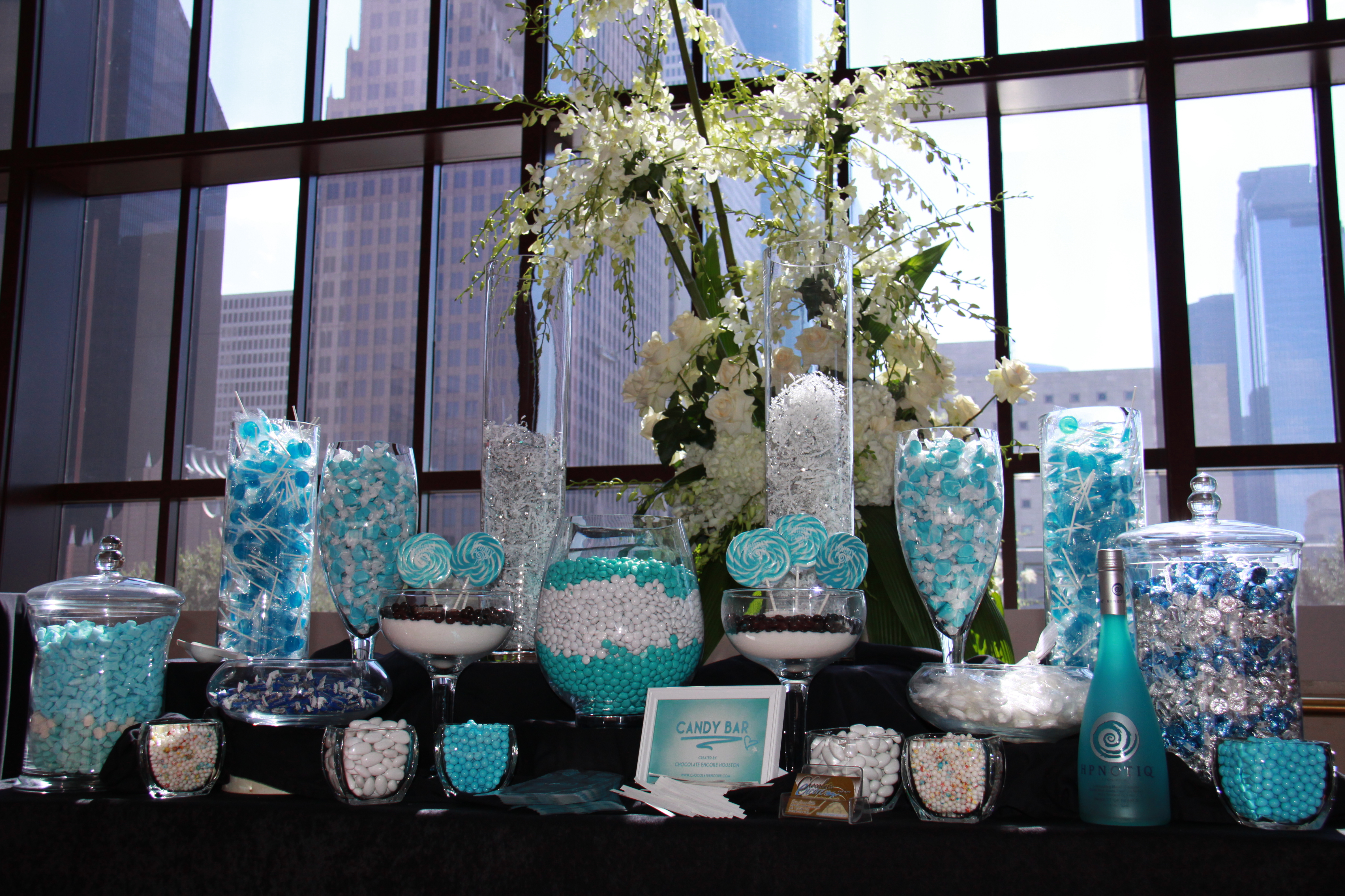 candy bar buffets | Houston Chocolate Fountains and Houston ...